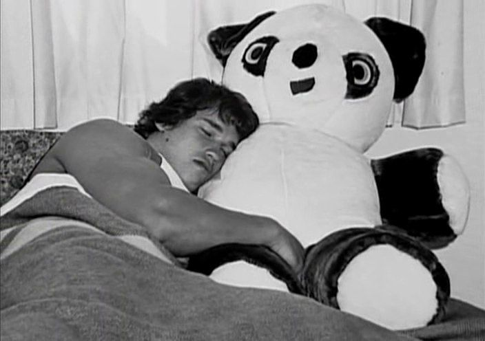 arnold_sleeping_recovery_with_panda_teddy
