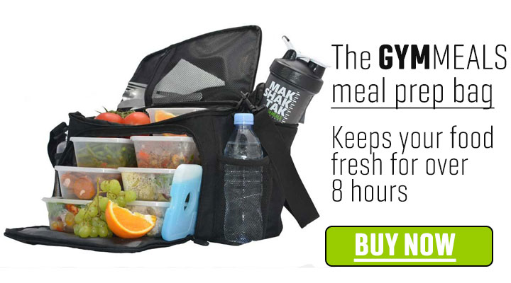 Gymmeals Meal Prep Bag Advertgymmeals Advert