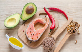 healthy_unsaturated_fats_foods_countertop