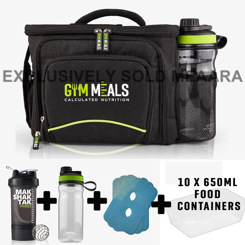 Genesis Meal Prep Bag ONLY UK Six Pack Iso Fitness Lunch ...